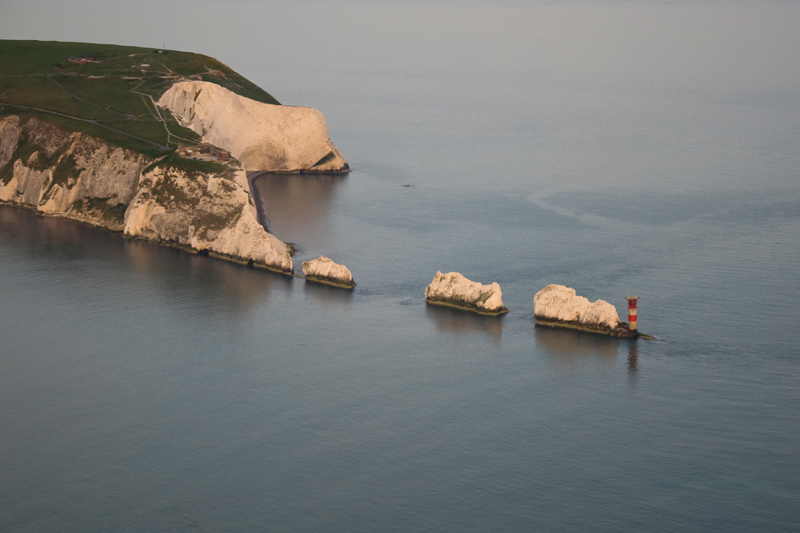 The Needles, Isle of Wight. Image available from Simon Westwood of Fly-by-Light Photography.