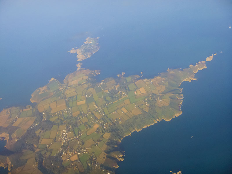 The Island of Sark. Image available from Simon Westwood of Fly-by-Light Photography.