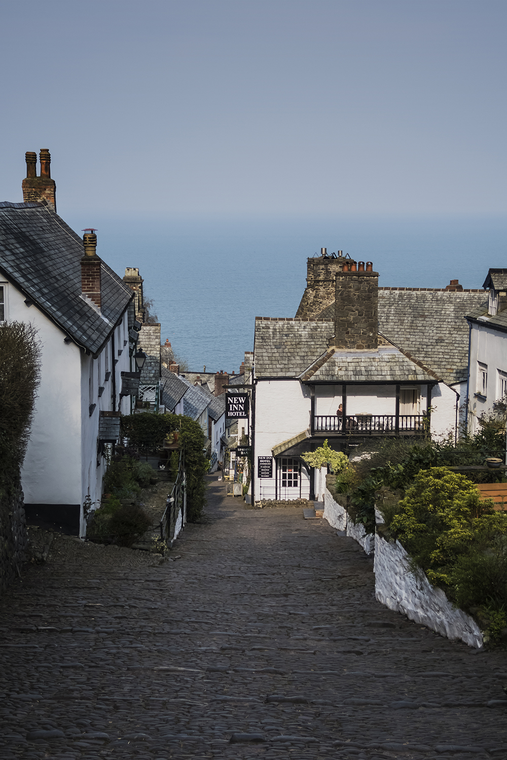 Clovelly Village, North Devon Coast. Image available from Simon Westwood of Fly-by-Light Photography.