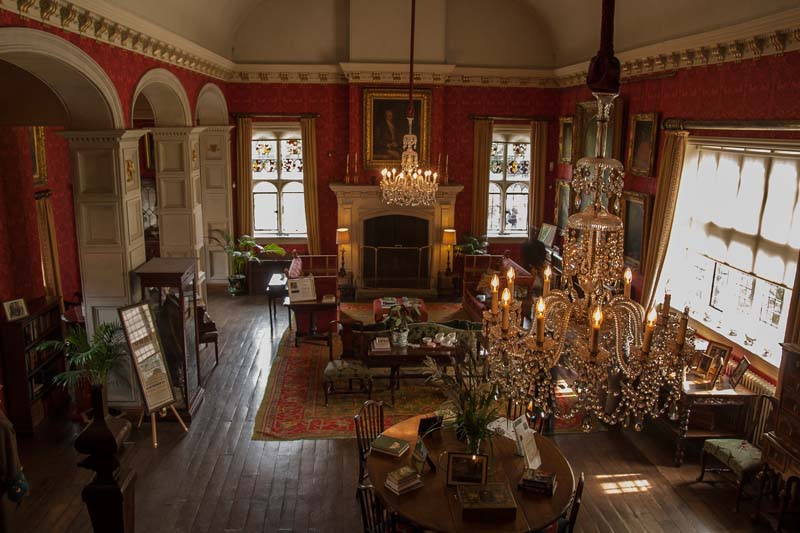 Coughton Court Interior. Image available from Simon Westwood of Fly-by-Light Photography.