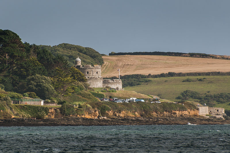 Saint Mawes Castle. Image available from Simon Westwood of Fly-by-Light Photography.