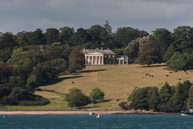 Trelissick House and Gardens. Image available from Simon Westwood of Fly-by-Light Photography.