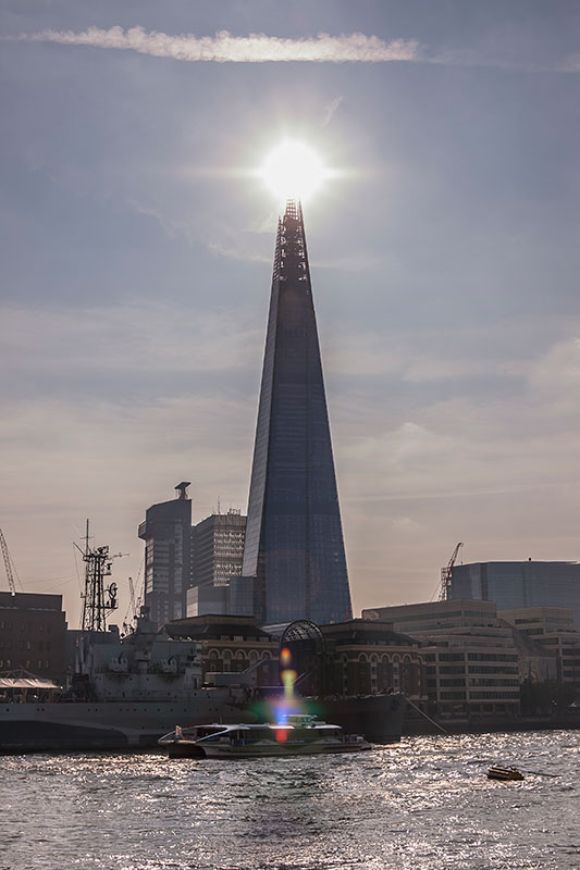 The Shard - London. Image available from Simon Westwood of Fly-by-Light Photography.