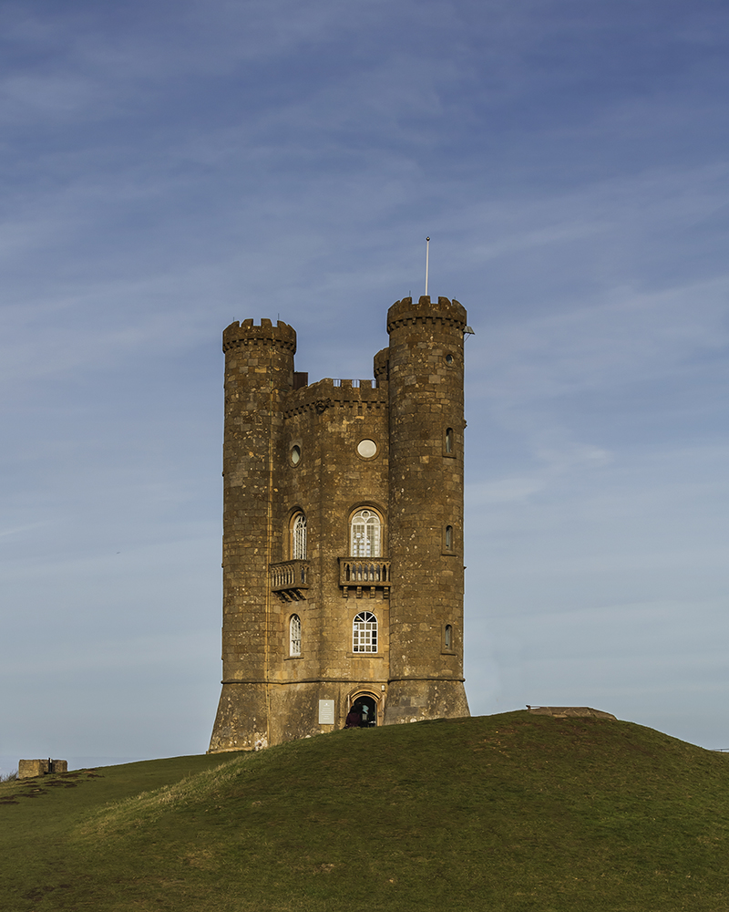 Broadway Tower. Image available from Simon Westwood of Fly-by-Light Photography.