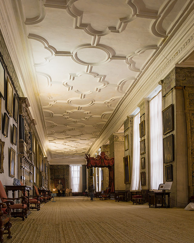 Hardwick Hall, interior. Image available from Simon Westwood of Fly-by-Light Photography.