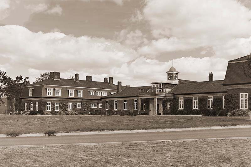 The Officers Mess - RAF Northolt. Image available from Simon Westwood of Fly-by-Light Photography.