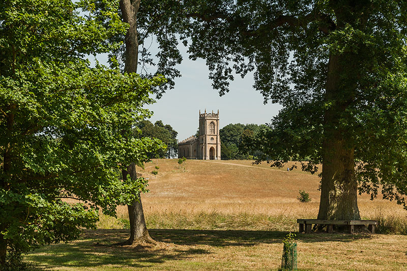 Church of St. Mary Magdalene, Croome D'Abitot. Image available from Simon Westwood of Fly-by-Light Photography.