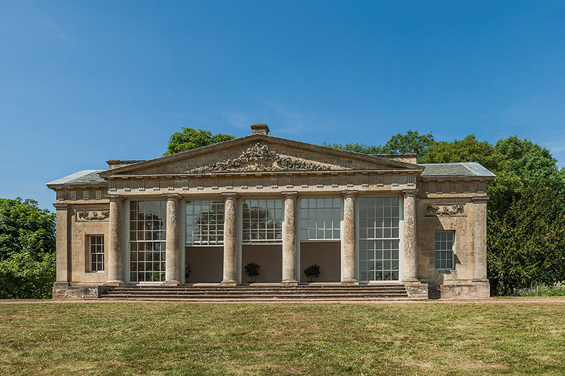The Temple Greenhouse, Croome Park. Image available from Simon Westwood of Fly-by-Light Photography.