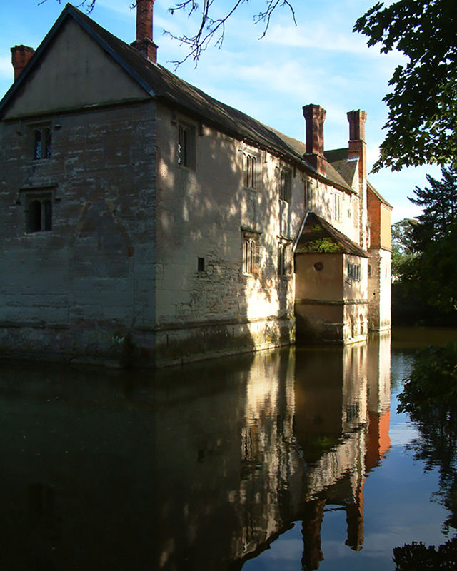 Baddesley Clinton, Warwickshire. Image available from Simon Westwood of Fly-by-Light Photography.