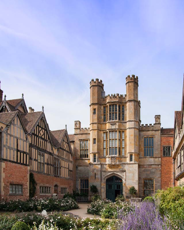 Coughton Court. Image available from Simon Westwood of Fly-by-Light Photography.