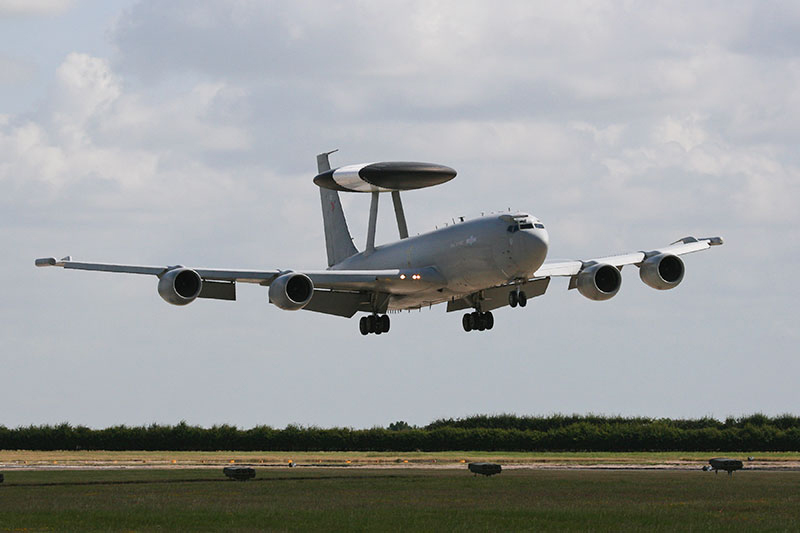 Boeing Sentry AEW.1. Image available from Simon Westwood of Fly-by-Light Photography.