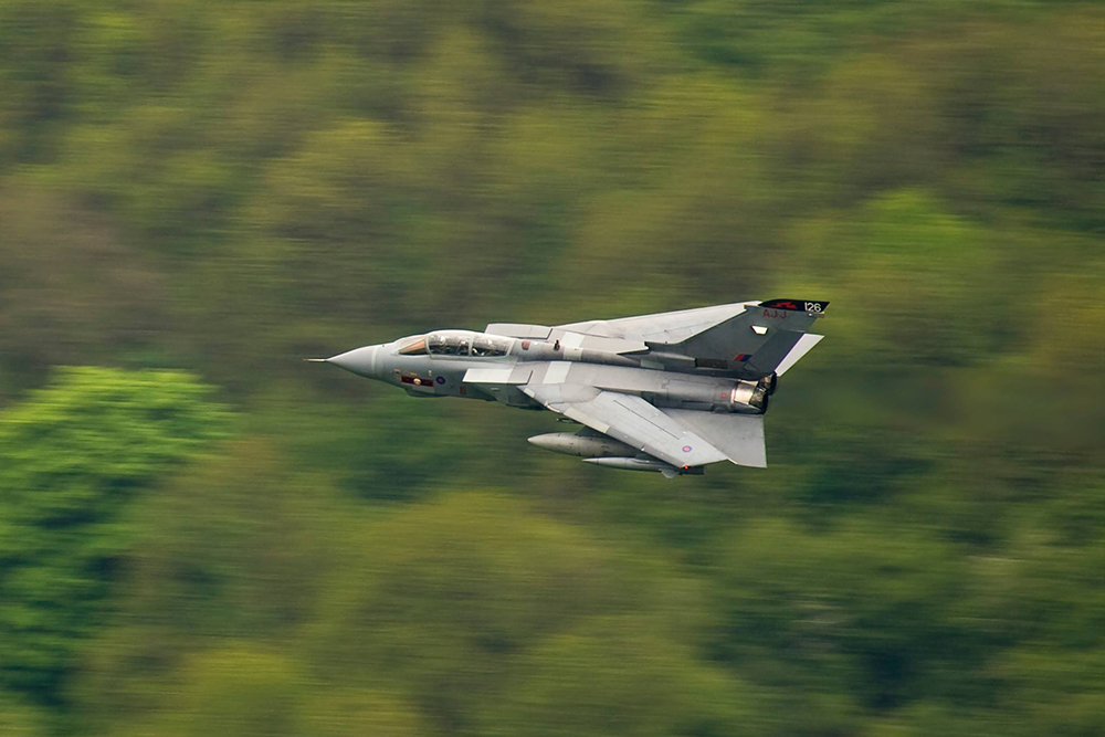 RAF Tornado, 617 Squadron. Image available from Simon Westwood of Fly-by-Light Photography.