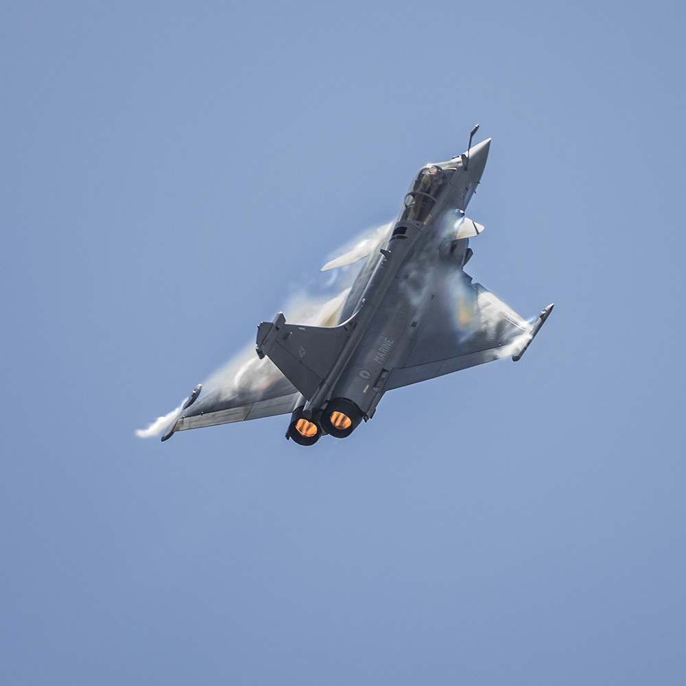 Dassault Rafale M. Image available from Simon Westwood of Fly-by-Light Photography.