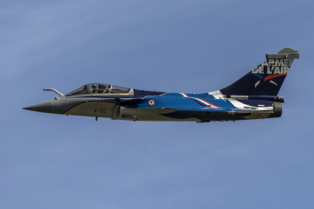 Dassault Rafale C. Image available from Simon Westwood of Fly-by-Light Photography.
