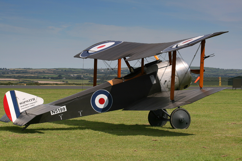 Sopwith Pup. Image available from Simon Westwood of Fly-by-Light Photography.