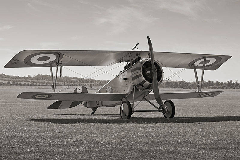 Nieuport 17/23 Scout Replica. Image available from Simon Westwood of Fly-by-Light Photography.