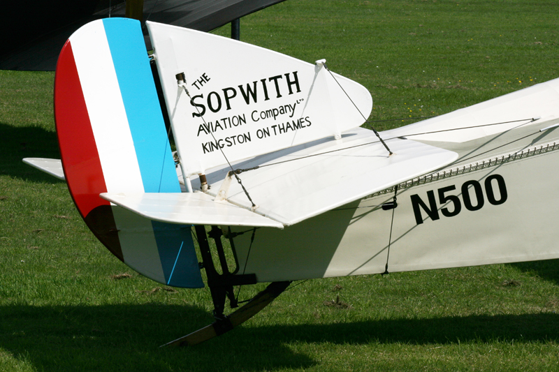 Sopwith Triplane. Image available from Simon Westwood of Fly-by-Light Photography.