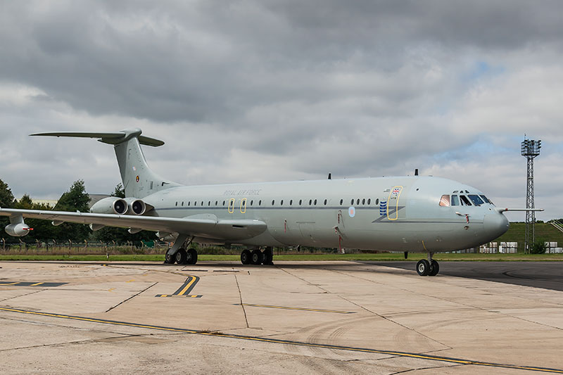 Royal Air Force VC-10, ZA147. Image available from Simon Westwood of Fly-by-Light Photography.