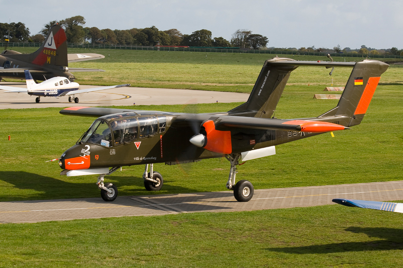 North American Rockwell OV-10B 'Bronco'. Image available from Simon Westwood of Fly-by-Light Photography.