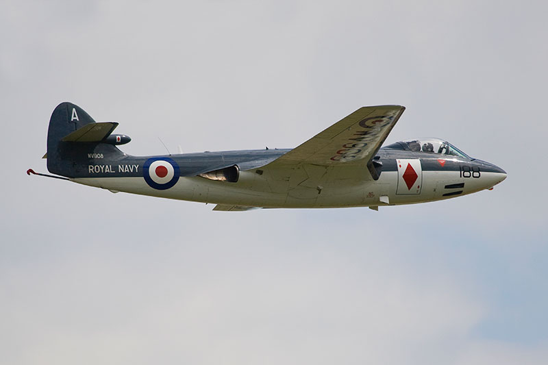 Hawker Sea Hawk FGA.6. Image available from Simon Westwood of Fly-by-Light Photography.