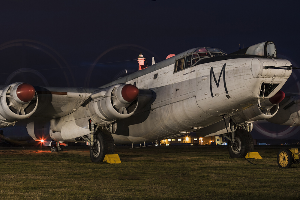 Avro Shackleton. Image available from Simon Westwood of Fly-by-Light Photography.