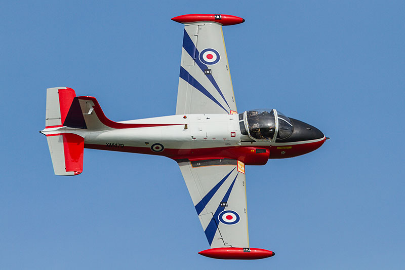 Hunting Percival Jet Provost Mk 3. Image available from Simon Westwood of Fly-by-Light Photography.