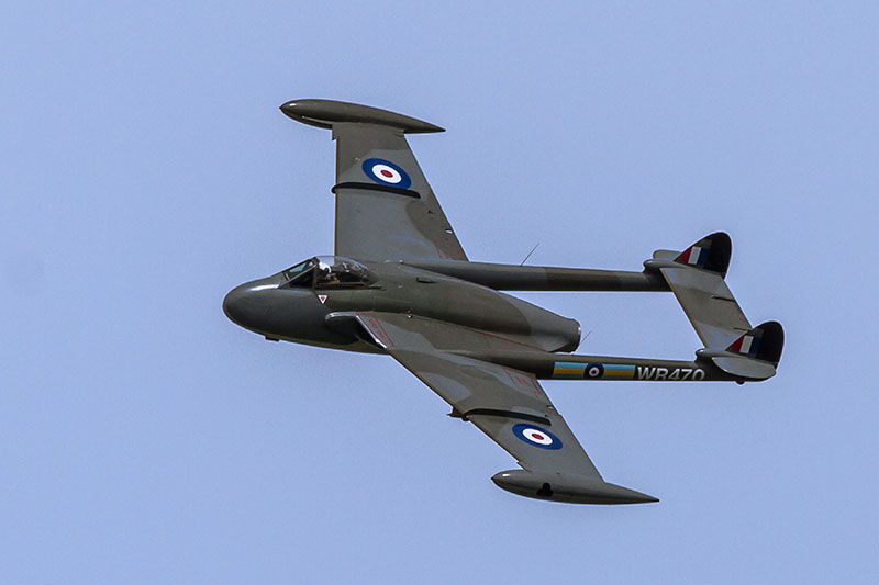 dH 112 Venom Fighter-Bomber. Image available from Simon Westwood of Fly-by-Light Photography.