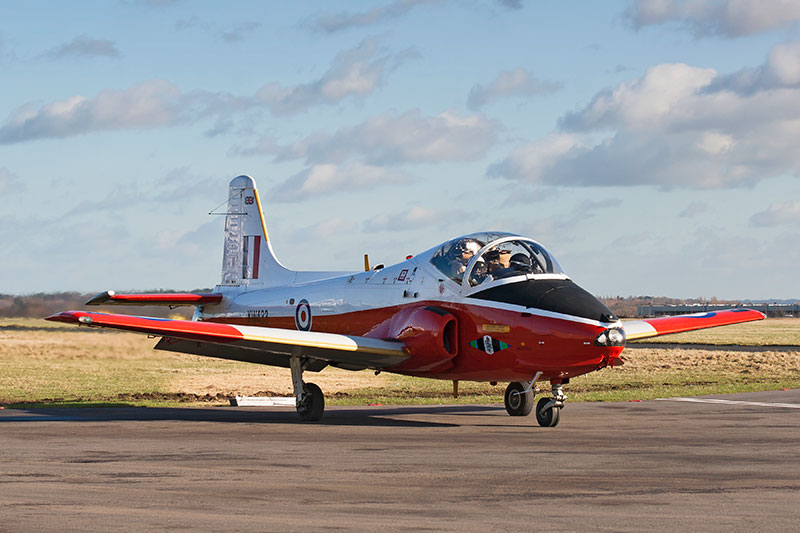 Jet Provost 5. Image available from Simon Westwood of Fly-by-Light Photography.