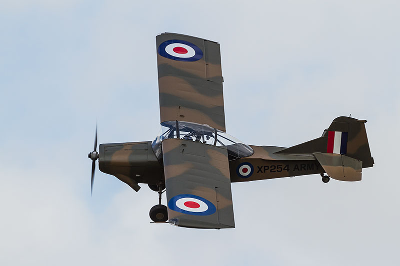 Auster AOP.11. Image available from Simon Westwood of Fly-by-Light Photography.