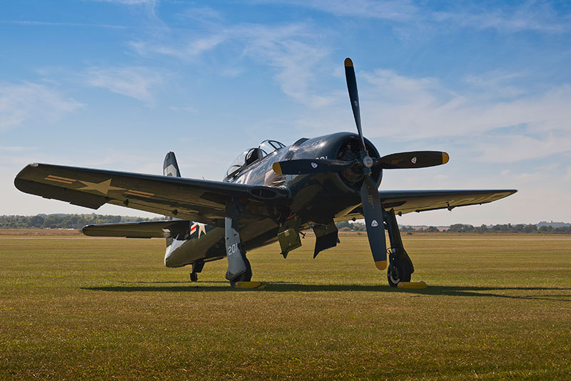 Grumman Bearcat. Image available from Simon Westwood of Fly-by-Light Photography.