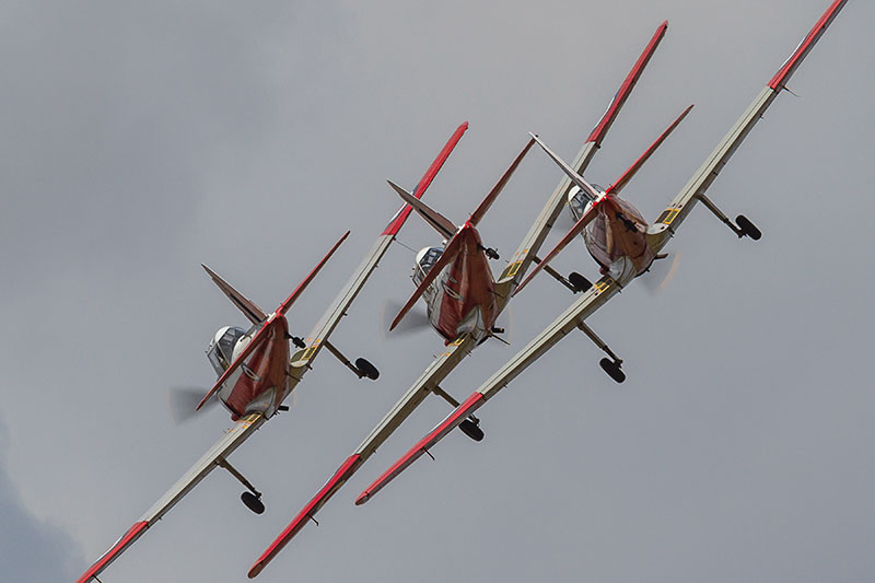 de Havilland Devon Canada Chipmunks. Image available from Simon Westwood of Fly-by-Light Photography.