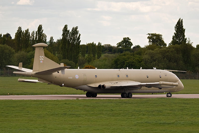Hawker Siddeley Nimrod MR2. Image available from Simon Westwood of Fly-by-Light Photography.
