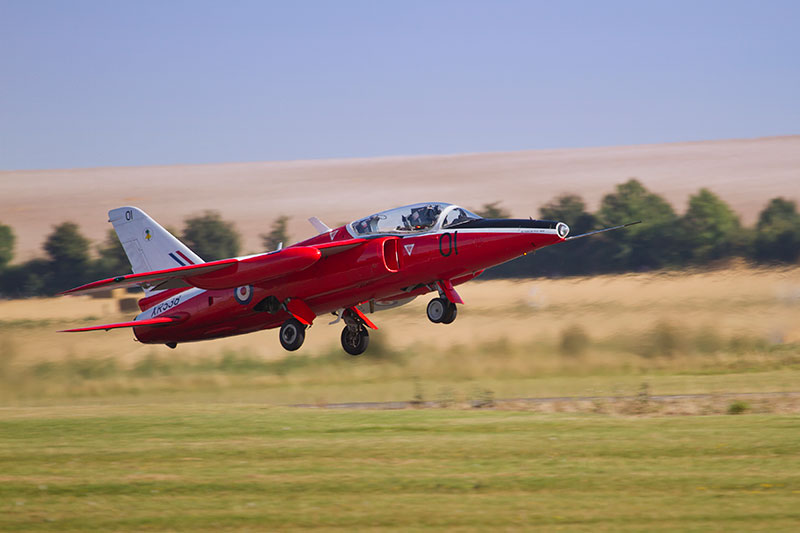 Folland Gnat. Image available from Simon Westwood of Fly-by-Light Photography.