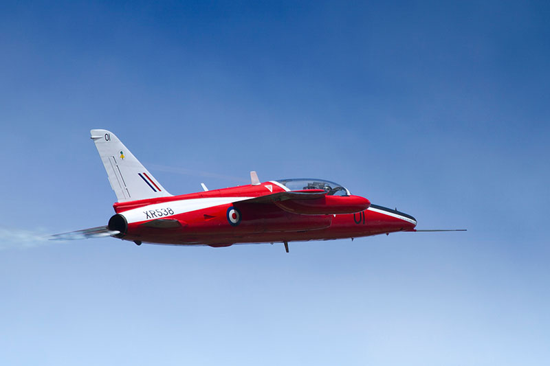 Folland Gnat XR538. Image available from Simon Westwood of Fly-by-Light Photography.