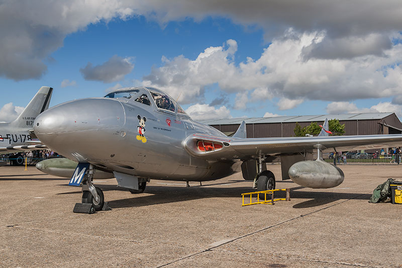 dH Vampire. Image available from Simon Westwood of Fly-by-Light Photography.