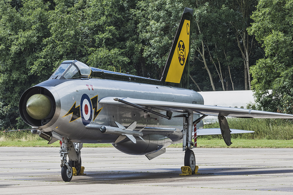 English Electric Lightning F.3. Image available from Simon Westwood of Fly-by-Light Photography.