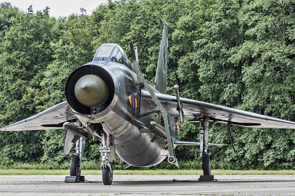 English Electric Lightning F.6. Image available from Simon Westwood of Fly-by-Light Photography.