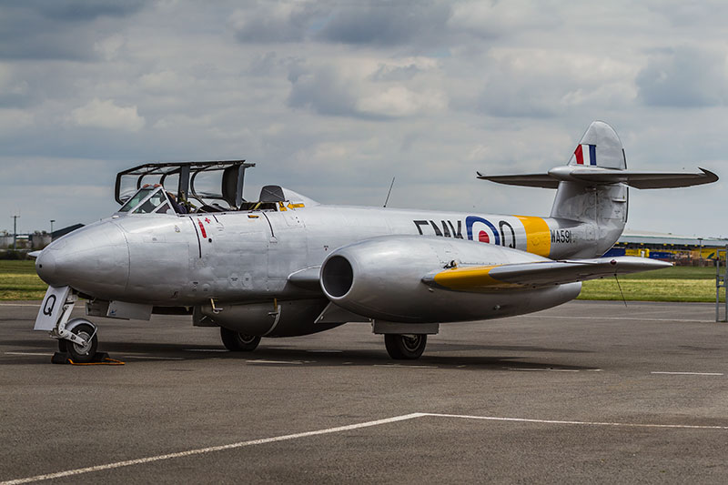 Meteor T.7. Image available from Simon Westwood of Fly-by-Light Photography.