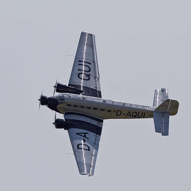 Junkers Ju-52-3M. Image available from Simon Westwood of Fly-by-Light Photography.