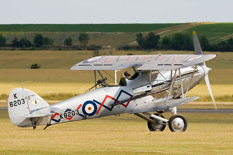 Hawker Demon. Image available from Simon Westwood of Fly-by-Light Photography.