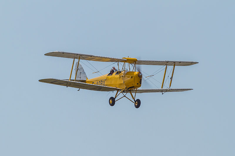 dh 82A 'Tiger Moth'. Image available from Simon Westwood of Fly-by-Light Photography.