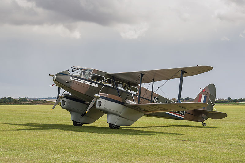 dH 89 Dragon Rapide. Image available from Simon Westwood of Fly-by-Light Photography.