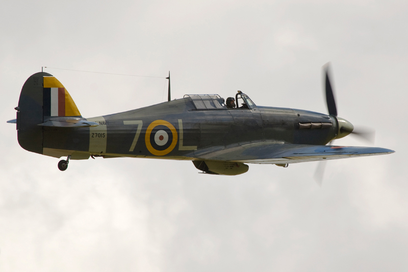 Sea Hurricane Mk 1b, Z7015. Image available from Simon Westwood of Fly-by-Light Photography.