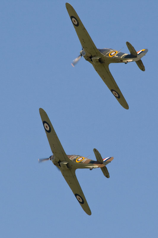 Hurricane and Sea Hurricane. Image available from Simon Westwood of Fly-by-Light Photography.