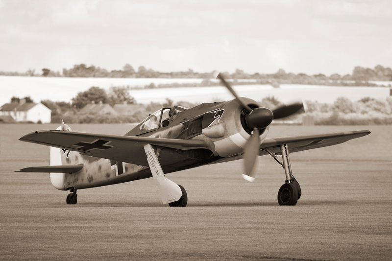 Focke-Wulf Fw 190. Image available from Simon Westwood of Fly-by-Light Photography.
