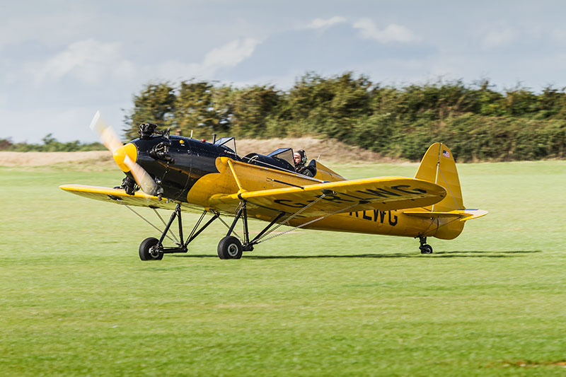Ryan PT-22 - Recruit. Image available from Simon Westwood of Fly-by-Light Photography.