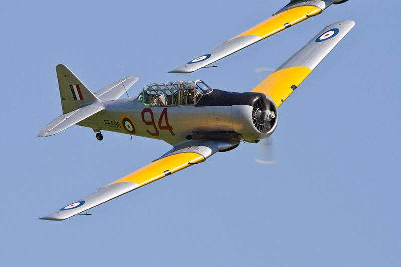 North American Harvard. Image available from Simon Westwood of Fly-by-Light Photography.