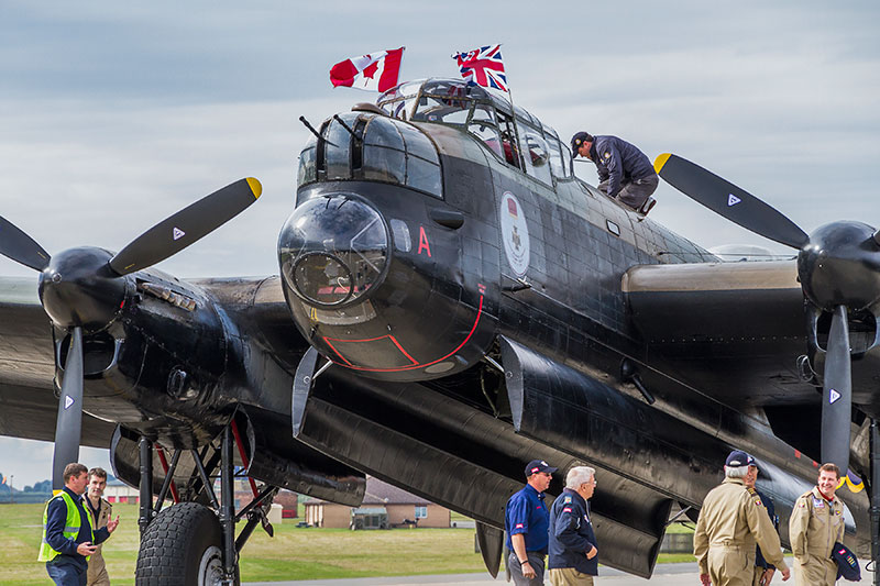 Canadian Lancaster. Image available from Simon Westwood of Fly-by-Light Photography.