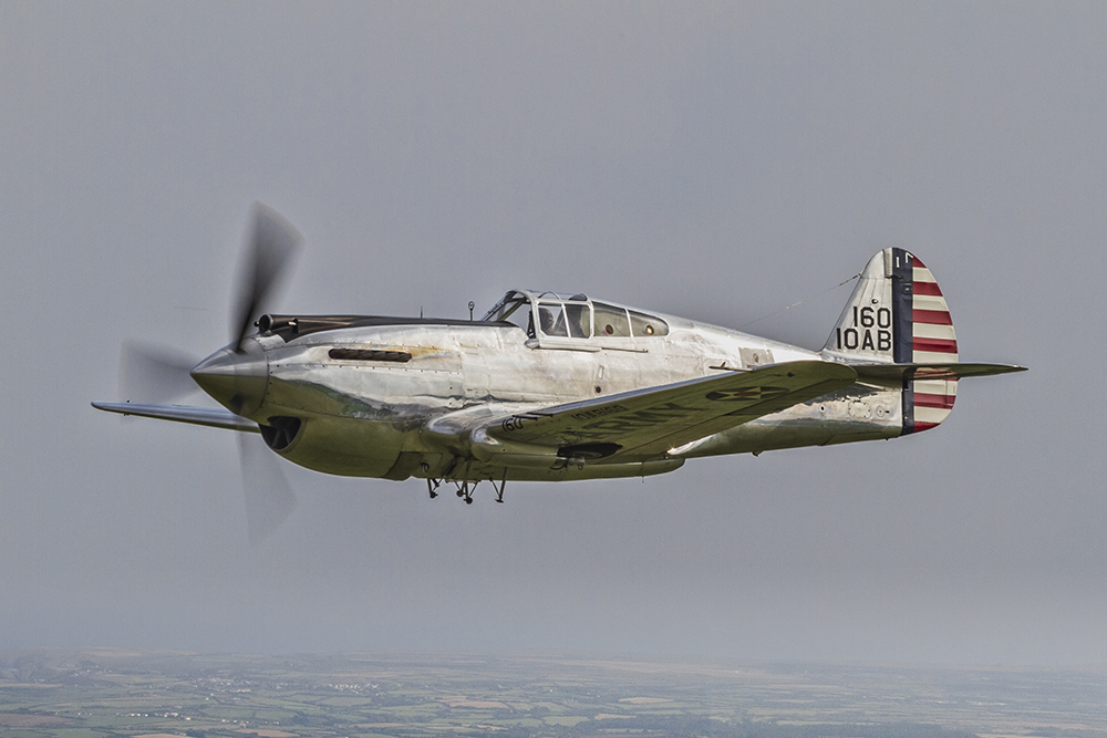Curtiss P.40 Warhawk. Image available from Simon Westwood of Fly-by-Light Photography.