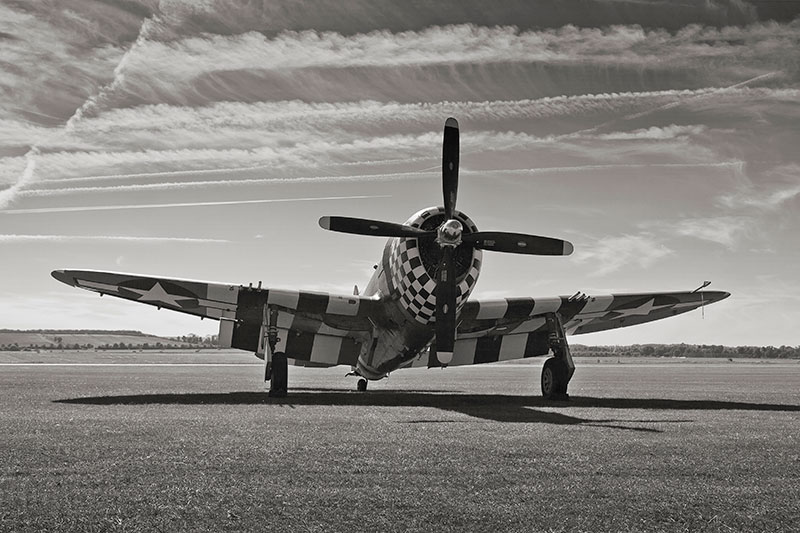 Republic P-47 Thunderbolt. Image available from Simon Westwood of Fly-by-Light Photography.
